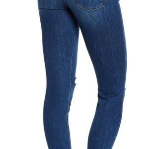 7 For All Mankind Jeans - 7 For All Mankind Dark Distressed Ankle Gwenevere